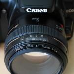 Prime lens Canon 50mm f/1.4 USM
