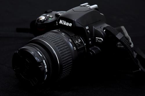 Nikon-D40-depan