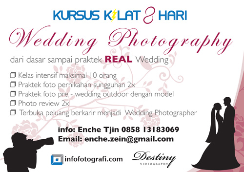 Kursus-Kilat-Fotografi-Wedding