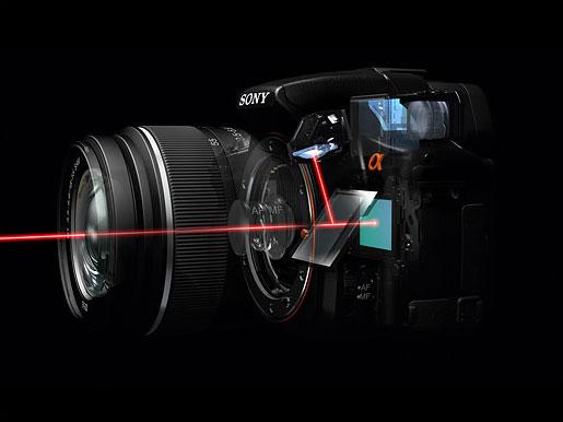 Sony A77 dengan teknologi SLT
