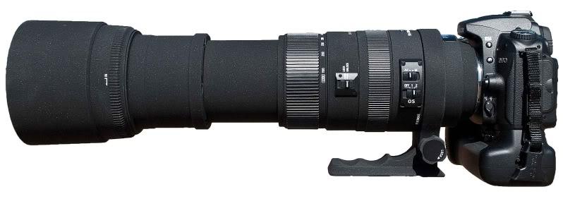 Salah satu lensa unik Sigma, 50-500mm OS HSM