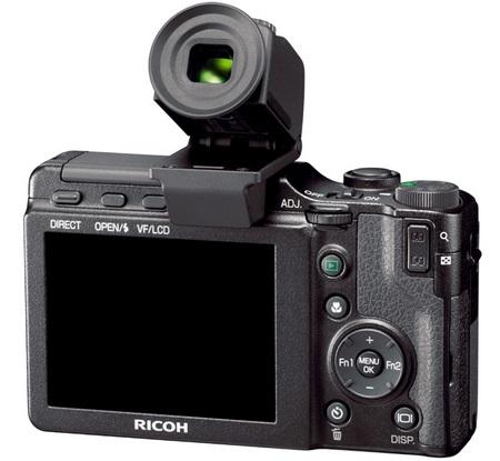 Jendela bidik elektronik tambahan kamera Ricoh GRD ini membantu saat berada di kondisi cahaya yang sangat terang
