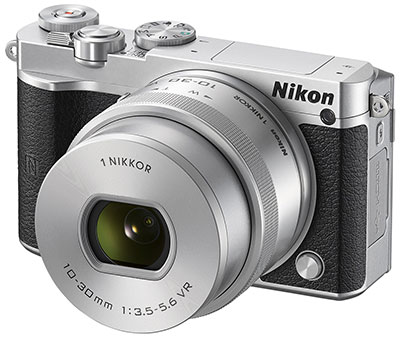 Nikon J5, 20MP, 20fps, 4K gaya retro