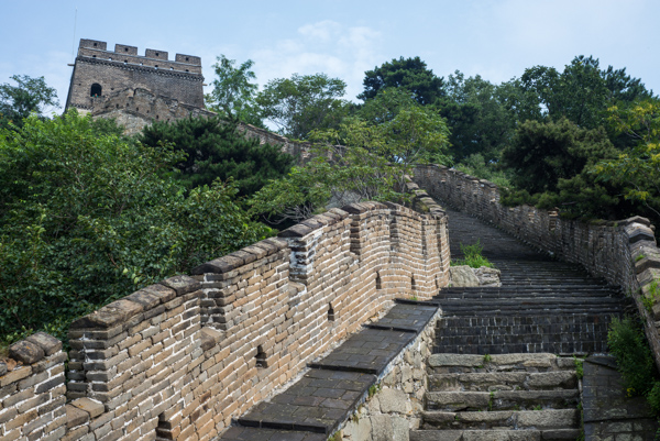 Salah satu sudut Great Wall yang sepi pengunjung