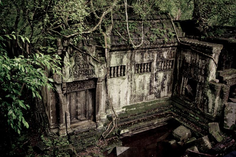 Jungle temple, Beng Melea, Kamboja