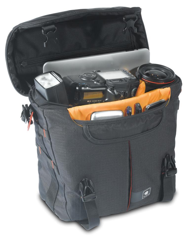 Ilustrasi peralatan yang bisa dipasang di dalam tas