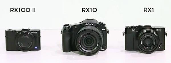 Keluarga kamera Sony RX