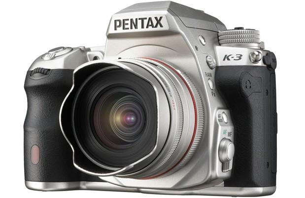 Pentax K-3 spesial warna perak