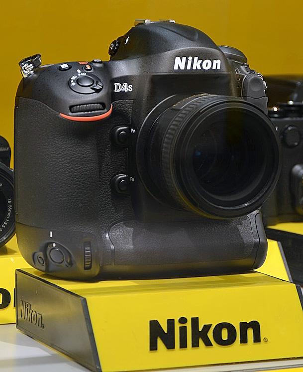Nikon D4s, kamera DSLR untuk profesional
