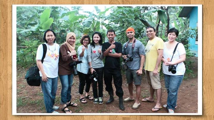 workshop makro hunting outdoor, angkatan pertama