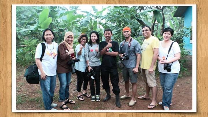 workshop makro hunting outdoor, angkatan pertama