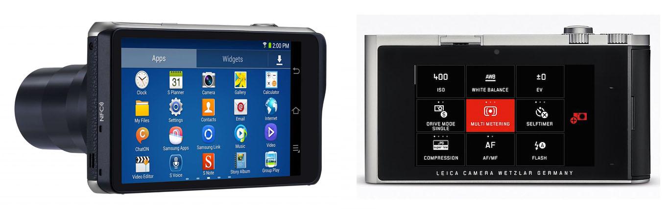 Samsung Galaxy NX dan Leica T