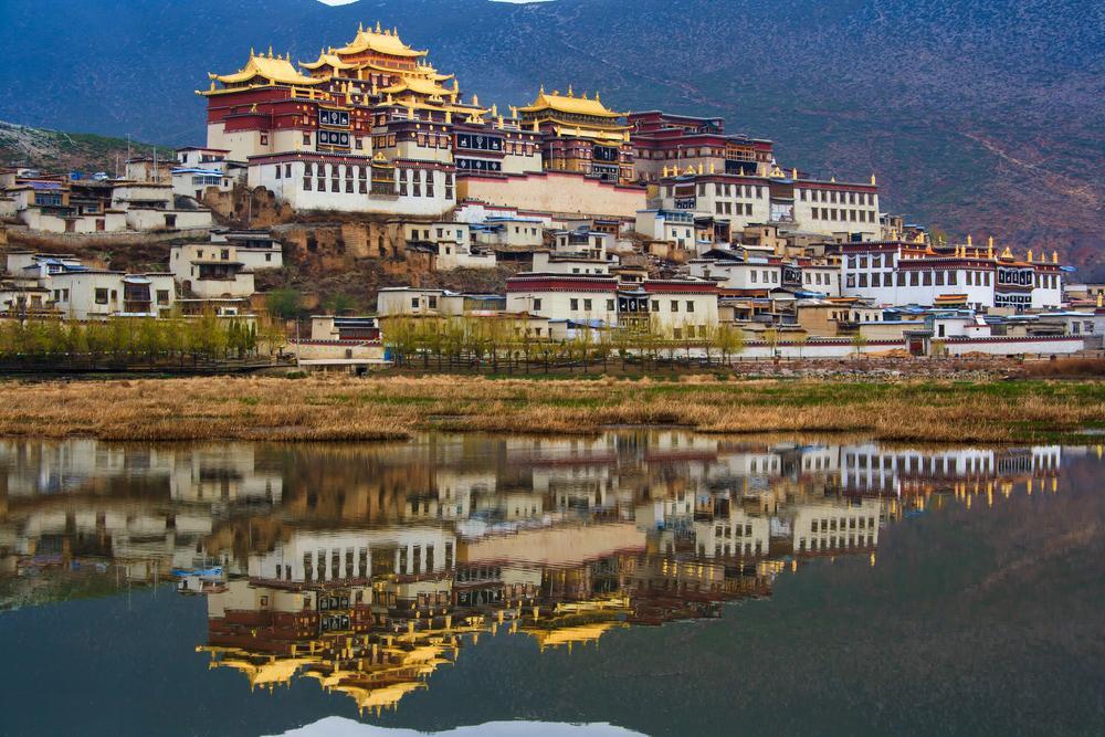 Songzanlin Monastery - Mini Potala Palace di Shangri-La, Yunnan