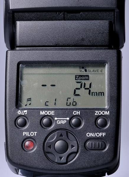 Mode wireless Canon. Tinggal pilih channel dan group