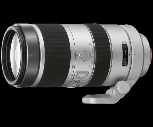 Lensa telefoto berkualitas biasanya bermerek Sony G