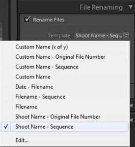 shoot name - sequence 1