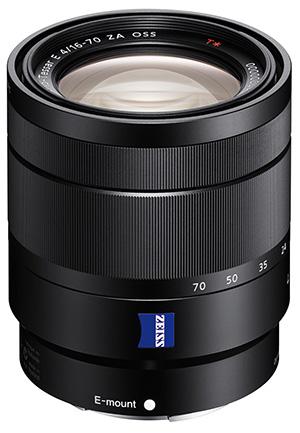 Zeiss Vario-Tessar- 16-70mm f/4 untuk Sony E-mount