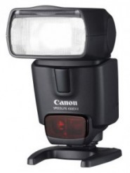 Canon 430EX-ii, lebih kecil & bisa TTL saat di posisi Optical Slave