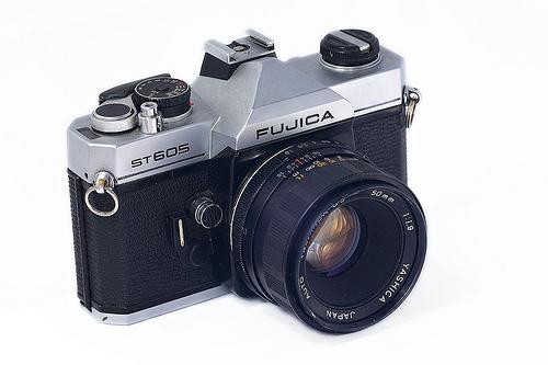 Fujica ST605 - Kamera DSLR Fuji era 1970-an