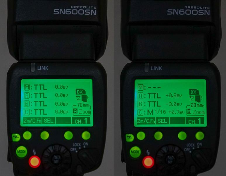 sistem Master CLS Nikon bisa dikonfigurasi dengan cukup bebas.