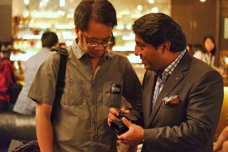 Enche Tjin berdialog dengan Mr Sunil Kaul