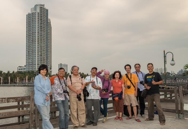 Peserta mentoring series Ancol sebanyak 7 orang, dengan 2 mentor (saya dan Enche Tjin).