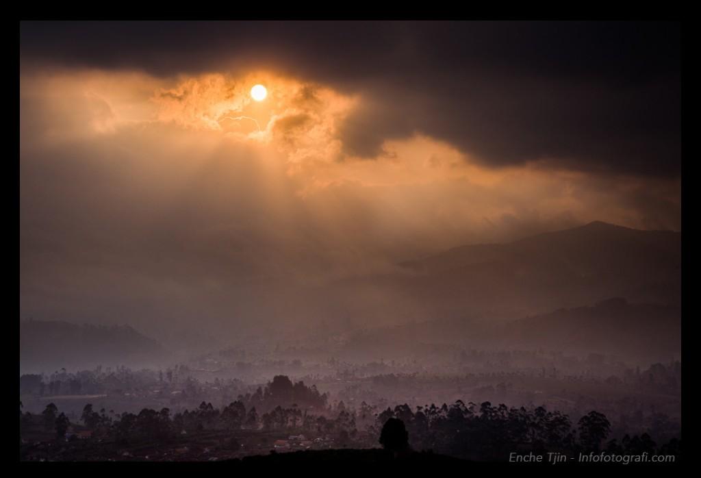 pangalengan-sunset