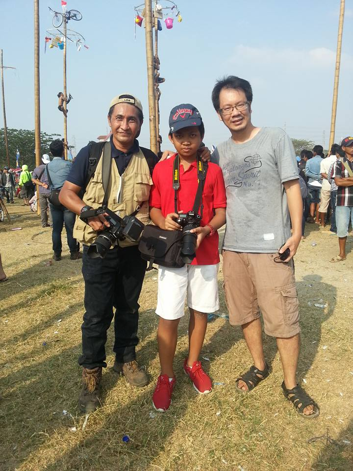 Ketemu dengan salah satu alumni kursus kilat Infofotografi :)