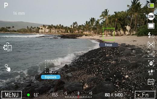Mau fokus kemana, metering kemana, bisa. Image from dpreview.com