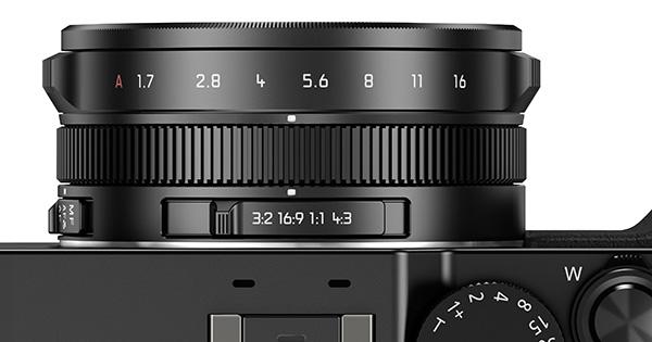 Ada kamera seperti Panasonic LX100 yang memiliki cincin untuk mengganti aspek rasio / format.