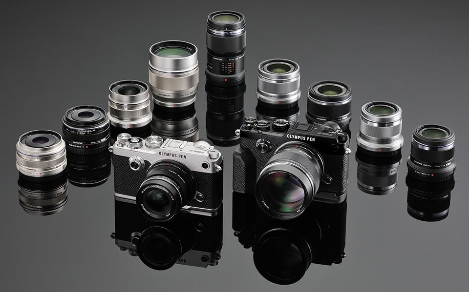 Lensa yang cocok untuk PEN F adalah lensa fix yang berukuran cukup ringkas.