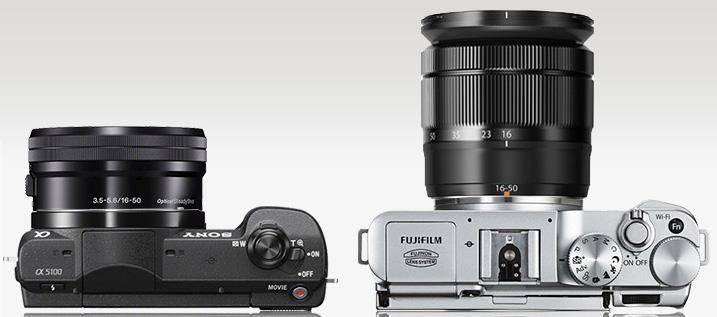 Sony A5100 Fujifilm Xa2