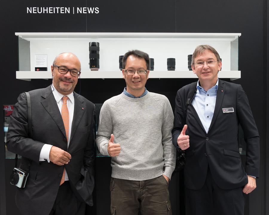 Kiri ke Kanan: Dr. Andreas Kauffman, Enche Tjin, Stefan Schulz.