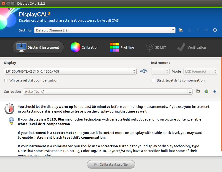 Kalibrasi layar Monitor Komputer di Ubuntu/Linux