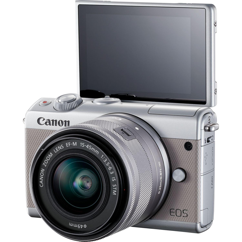 Review Canon M100 Kamera Mirrorless pact Untuk Pemula