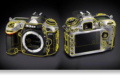 Desain segel anti air Nikon D7100
