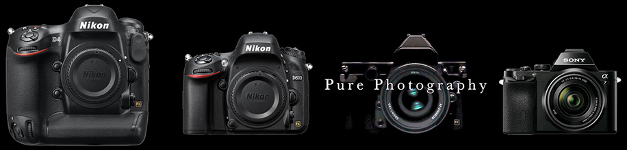 Kiri ke kanan: Nikon D4, Nikon D610, Nikon Df, Sony A7