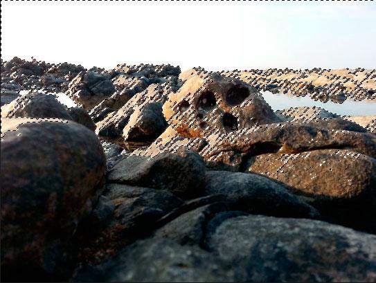 ground pantai