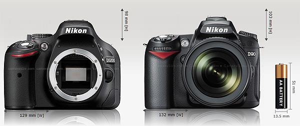 nikon-d5200-vs-nikon-d90