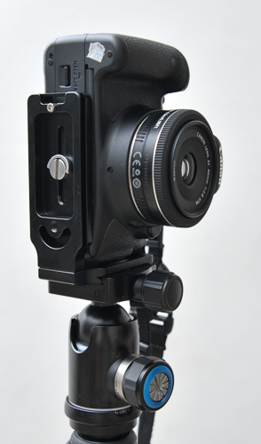 L Plate Canon 650D