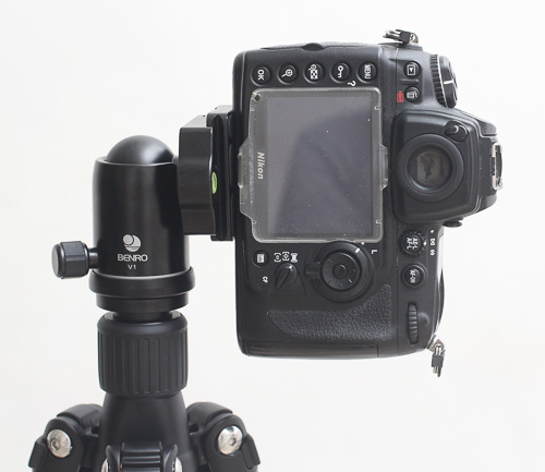 Kamera tanpa L Bracket