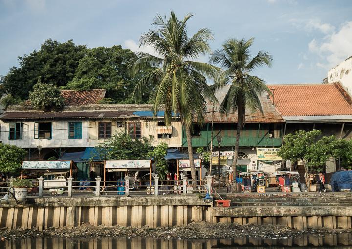 Salah satu sisi kota tua Jakarta