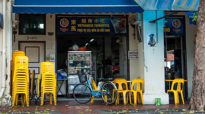 Sebuah kedai Vietnam di Jalan Joo Chiat, Singapore