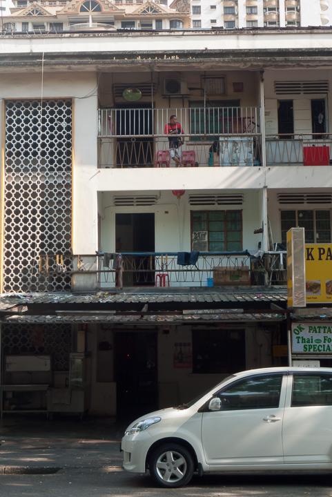 Pagi hari di jalan Alor, Kuala Lumpur