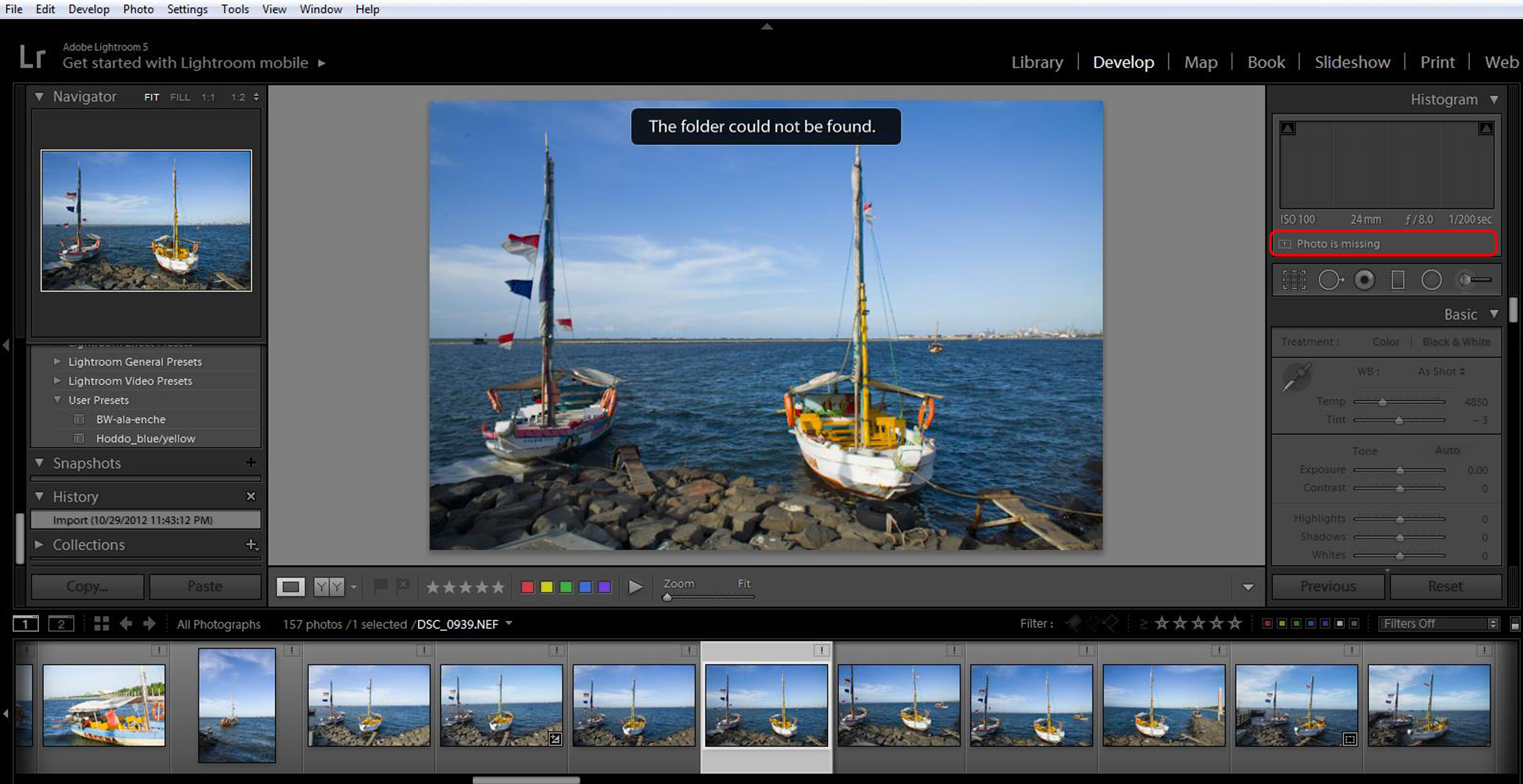 smart previews in lightroom classic cc