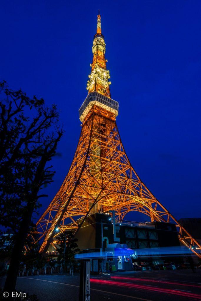 Slow speed 2 detik di Tokyo Tower
